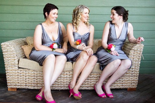 email6 Mismatched Bridesmaids