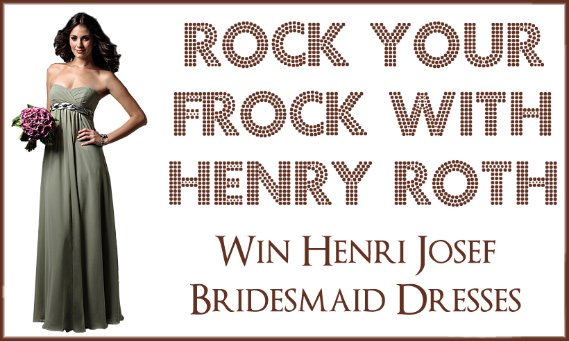 henri josef rock your frock Dont Forget To Vote!