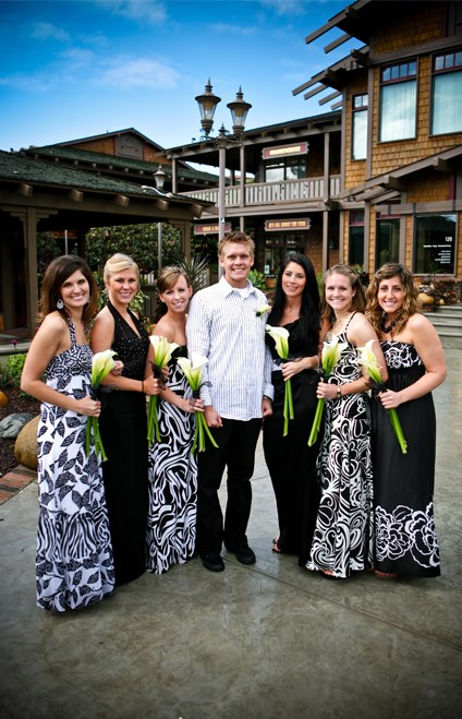real wedding stephan and ronna part 2 e28094 we met in a bar Mismatched Bridesmaids