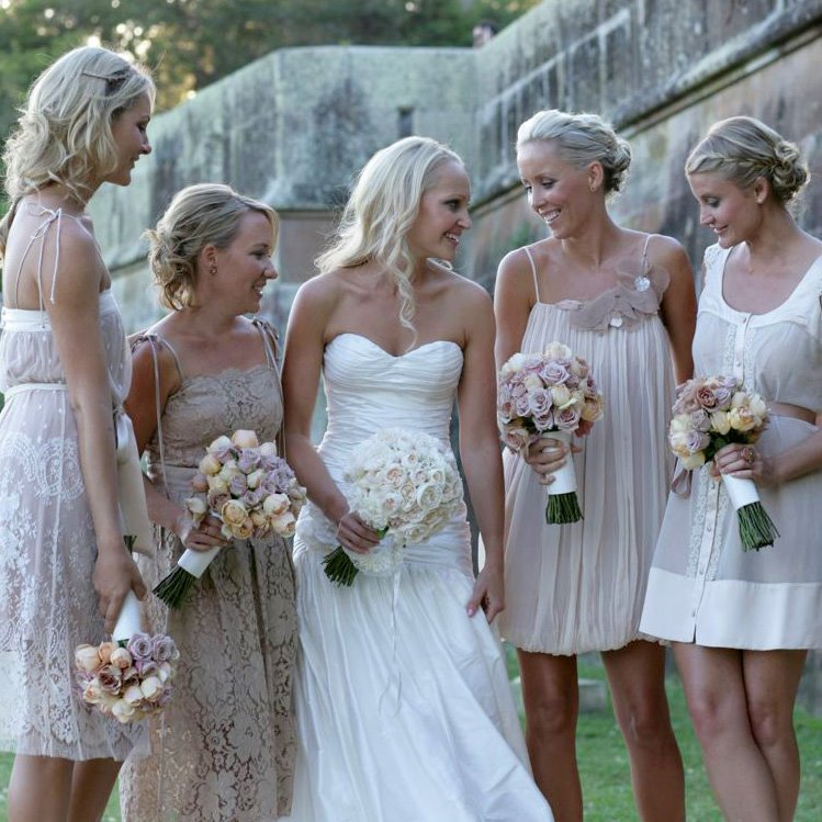 Mismatched bridesmaids dresses that DIDNT work? :  wedding Ilana2