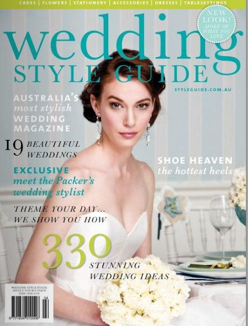 Australian wedding magazine Wedding Style Guide has opened up their Spring