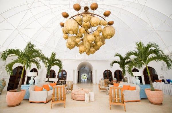 anguilla wedding by grazier photography ii style me pretty the ultimate wedding blog Lovely Lanterns