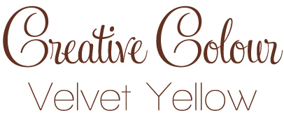 velvet yellow text Creative Colour Velvet Yellow