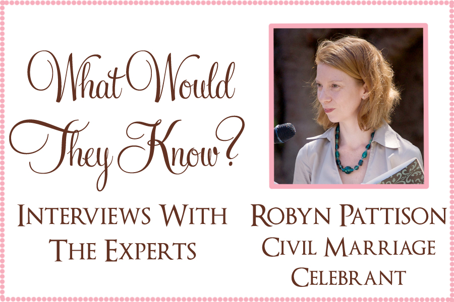 wwtk robyn pattison What Would They Know? Robyn Pattison Celebrant