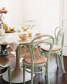 bentwood1 Coloured Chairs