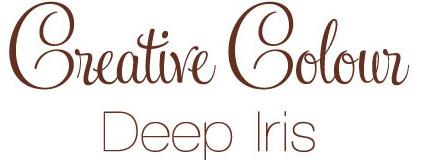 deep iris text Creative Colour Deep Iris