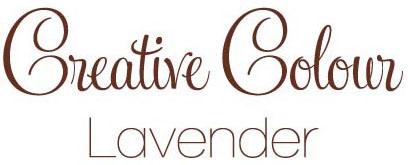 lavender text Creative Colour Lavender