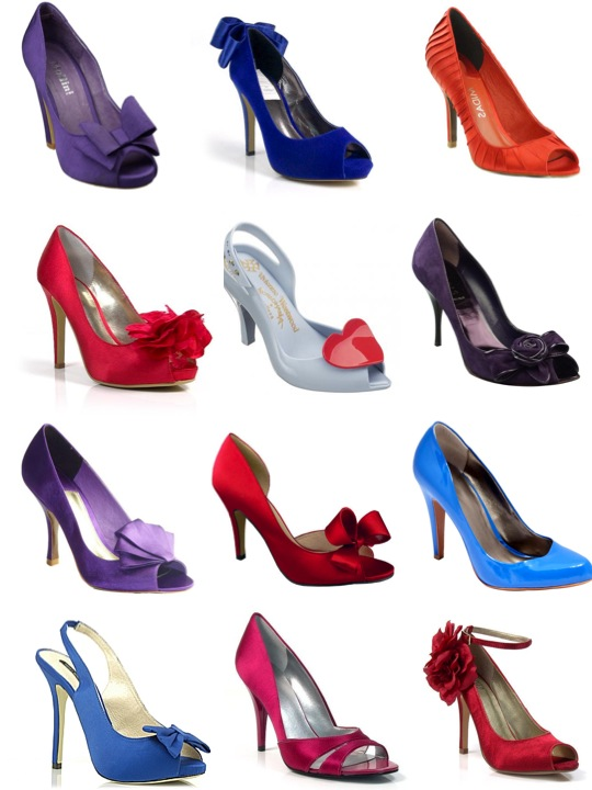 coloured shoes australia1 Spring Coloured Shoes