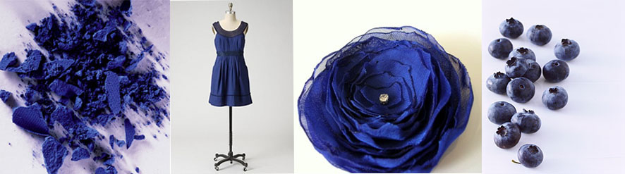 indigo inspiration board Creative Colour Indigo
