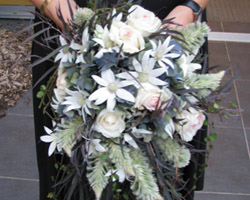 wedding flowers courtesy Del Thomasjpg Fetching Flannel Flowers