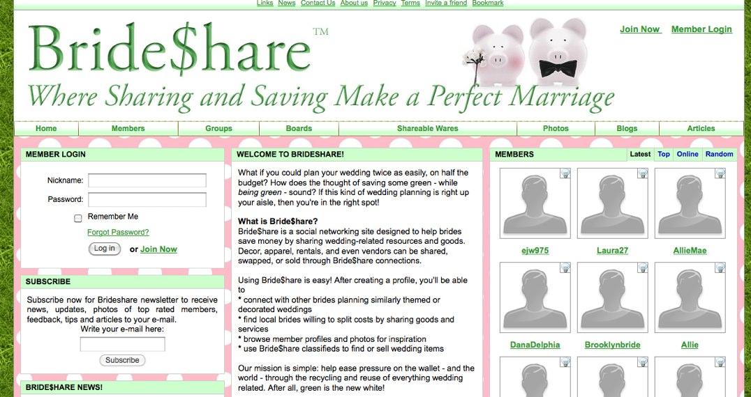 Brideshare Friday News & Steals