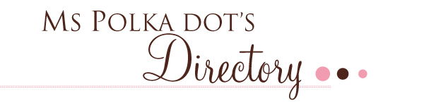 Ms Polka Dots Directory Polka Dot Bride Unveils Ms Polka Dots Directory