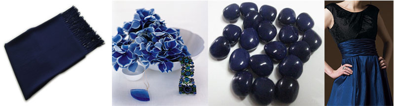 midnight blue inspiration board Creative Colour Midnight Blue