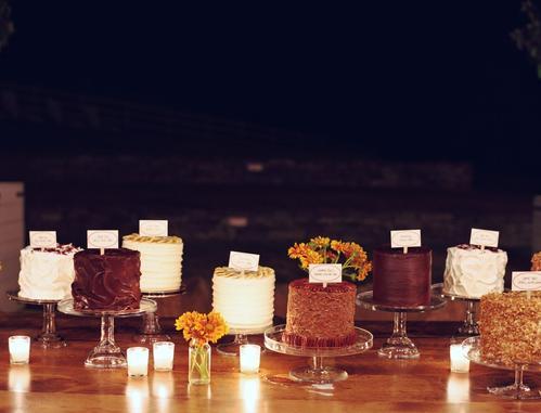wedding cake buffet Having A Bar Of It... The Decoration