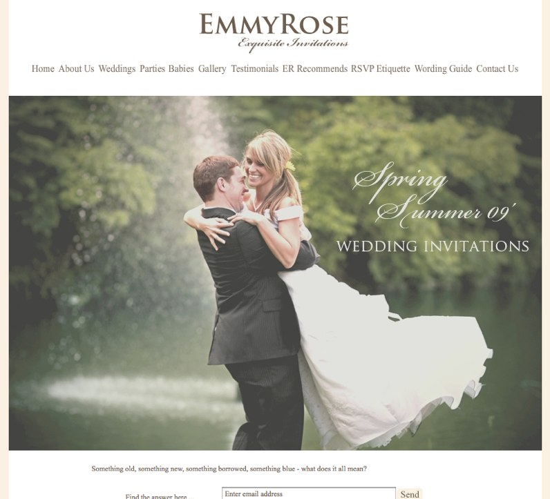 EmmyRose Wedding Event Invitations 1 News Roundup