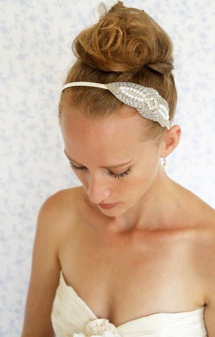 Little white dresser wedding hair007 Little White Dresser