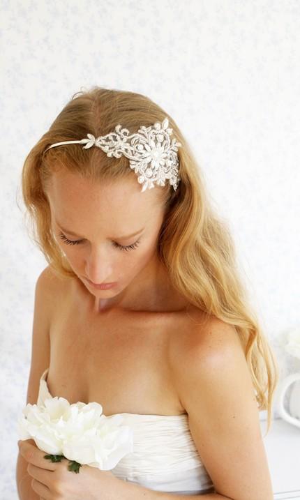 Little white dresser wedding hair011 Little White Dresser