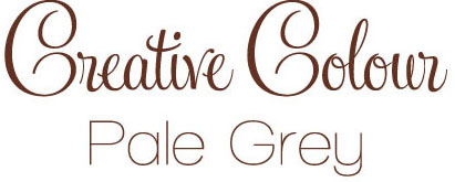 pale grey text Creative Colour Pale Grey