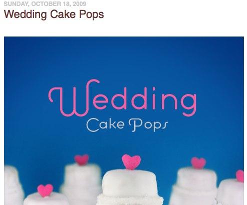 Wedding Cake Pops bakerella.com Holiday Reading Guide