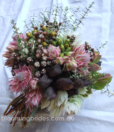Australian Native Bouquets by Blooming Brides