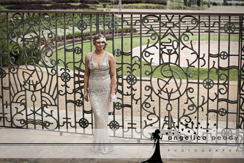 bride in silver sequin dress04 Sparkling Glamour Bridal Shoot