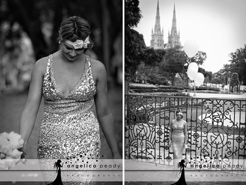 bride in silver sequin dress08 Sparkling Glamour Bridal Shoot