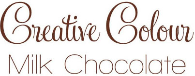 milk chocolate text Creative Colour Milk Chocolate