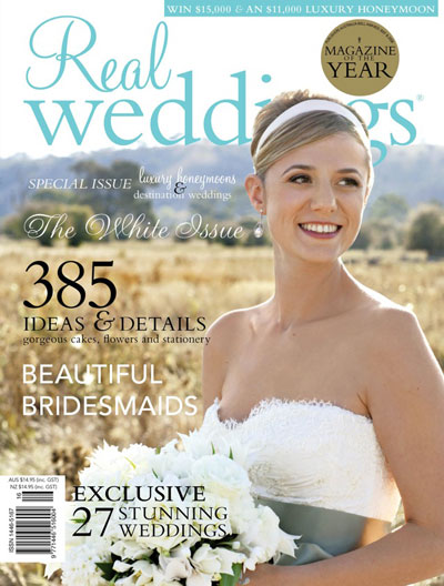 real weddings dec Out Now December 2009