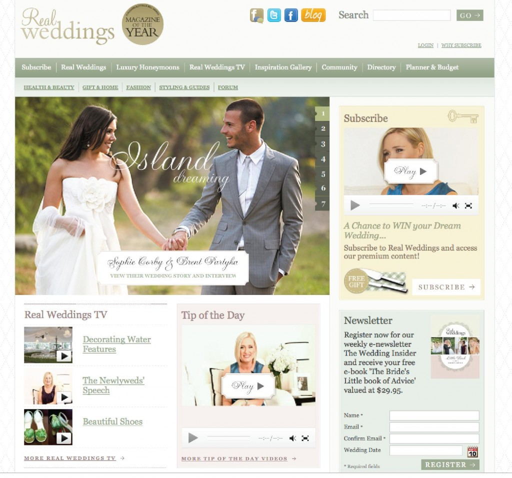 completed puzzle 1024x956 Real Weddings Magazine Unveils A Brand New Website!