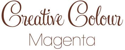 magenta text Creative Colour Magenta