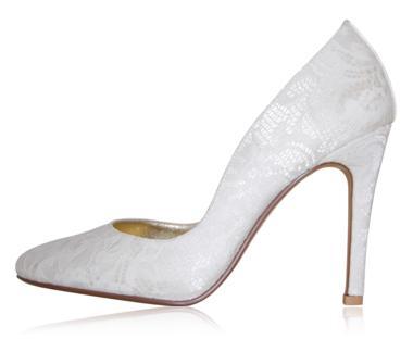 peppetoe shoes bridal shoes002 Peeptoe Shoes Bridal Collection