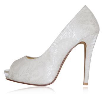 peppetoe shoes bridal shoes004 Peeptoe Shoes Bridal Collection