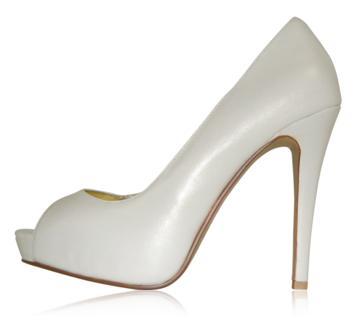 peppetoe shoes bridal shoes005 Peeptoe Shoes Bridal Collection