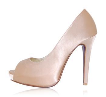 peppetoe shoes bridal shoes006 Peeptoe Shoes Bridal Collection