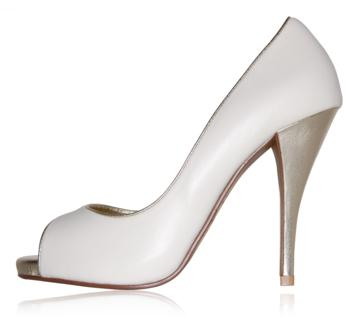 peppetoe shoes bridal shoes007 Peeptoe Shoes Bridal Collection