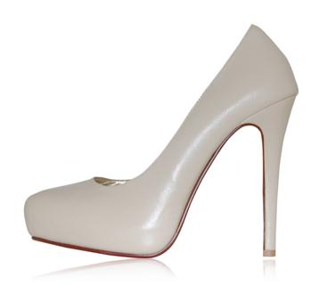 peppetoe shoes bridal shoes009 Peeptoe Shoes Bridal Collection