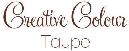 taupe text Creative Colour Taupe