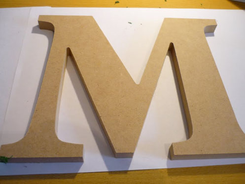 DIY Moss Letters001 DIY Moss Letters Project