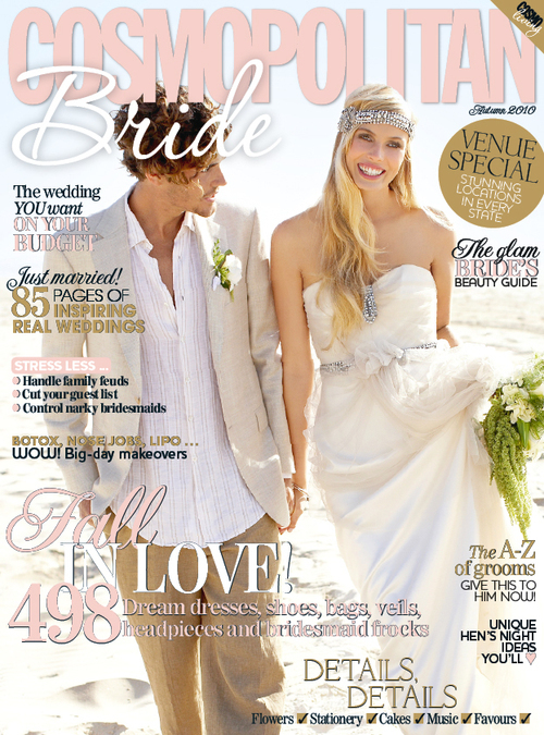 cosmopolitan bride feb 2010 Out Now....February 2010
