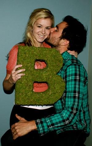 diy moss letter3 Beautiful DIY Projects