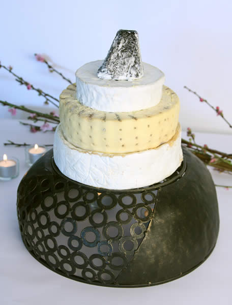 fromage to you cheese wedding cakes005 Cheese Wedding Cakes