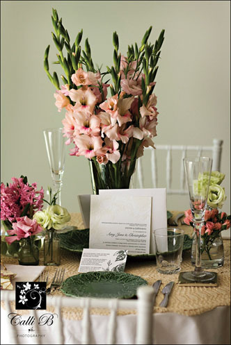 garden glamour tablescape005 Garden Glamour Tablescape