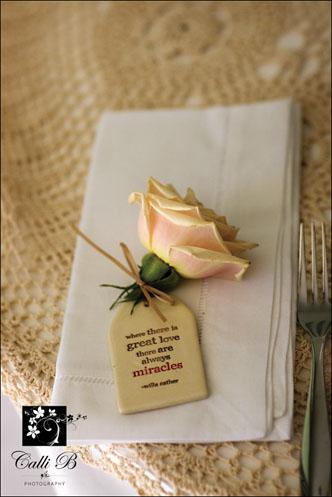 vintage rose tablescape0061 Vintage Rose Tablescape