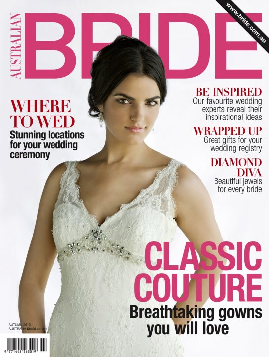 bride magazine Out Now March 2010