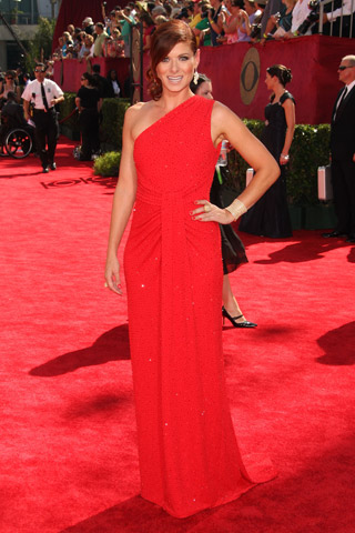 debra messing Lady In Red