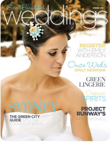 eco beautiful weddings1 Out Now March 2010