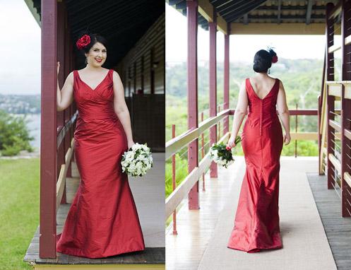 Bridesmaid Dress on Elizabeth Red Wedding Dress17 Lady In Red