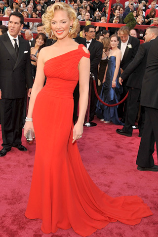 katherine heigl Lady In Red