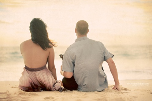 mala henri beach engaged05 Mala and Henri Engaged