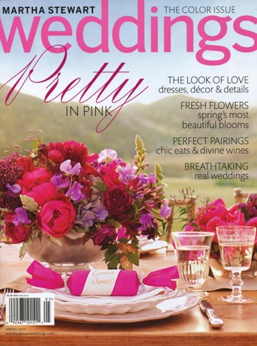 martha stewart weddings spring 2010 Out Now March 2010